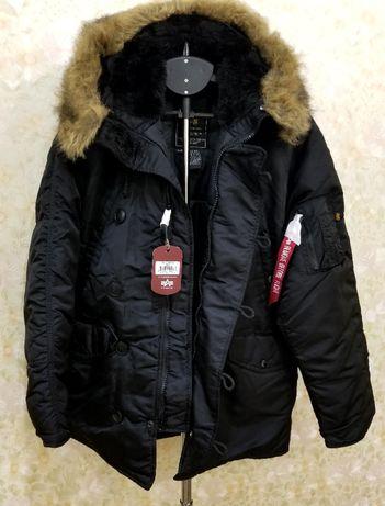 куртка парка аляска Alpha Industries N-3B regular
