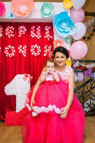 Плаття мама доця