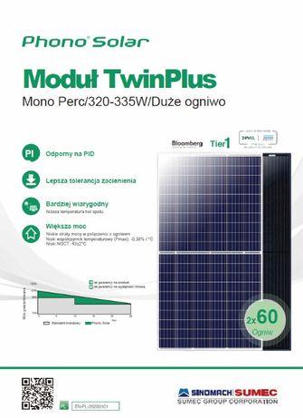 Panele Moduły fotowoltaiczne Mono 320W Full Black - Hurt-Nowe Raty 0%