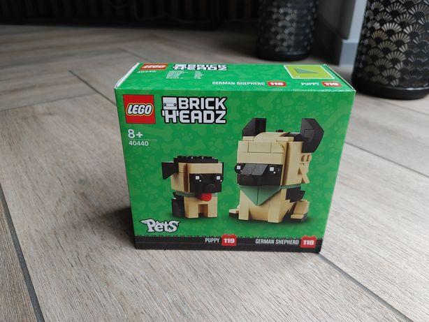 Lego Brickheadz Pets Pies 40440 Owczarek niemiecki, szczeniak. Nowy!