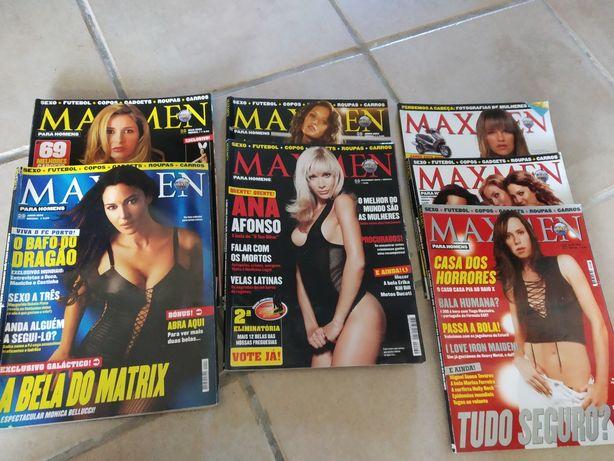 Revistas Maxmen masculinas