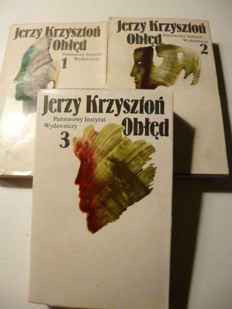 Jerzy Krzysztoń - Obłęd [3 tomy]