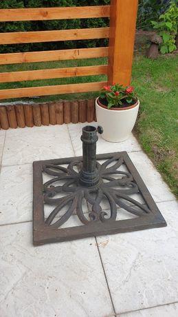 Podstawa żeliwna pod parasol ogrodowy