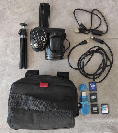 Aparat Nikon CoolPix L830 dużo dodatków bdb stan