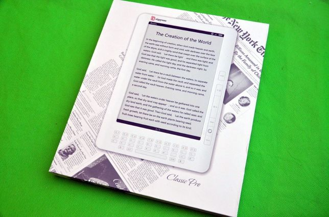 Электронная книга 9.7дюйма EvroMedia Школьнику Большой экран WiFi