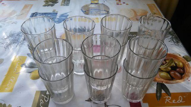 Граненые стаканы. Подстаканники. Рюмки.