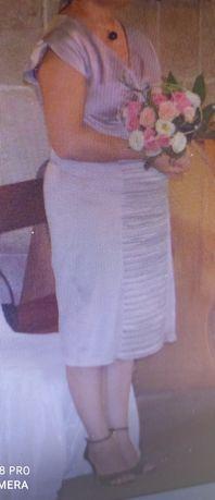 Sukienka r. 46 z bolerkiem