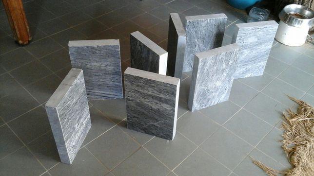 Pedras granito bojardado polido