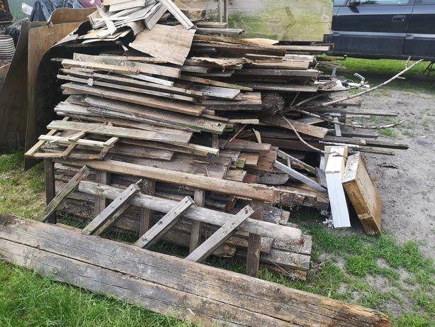 Oddam drewno rozbiórkowe