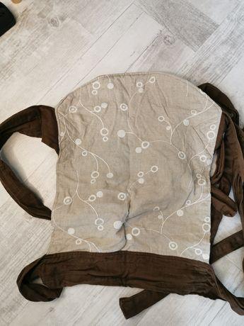 Nosidło Mei Tai brązowe
