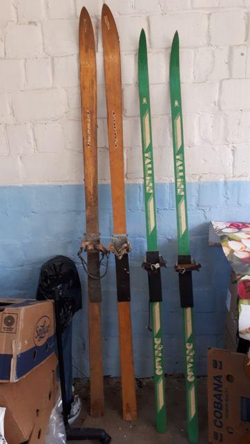 Лыжи времен застоя
