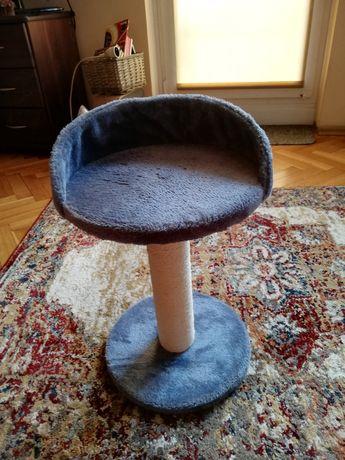 Stojak drapak i siedzisko dla kotka