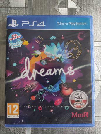 NOWA gra Dreams PL PS4 PS5 PlayStation 4 PlayStation 5 Folia