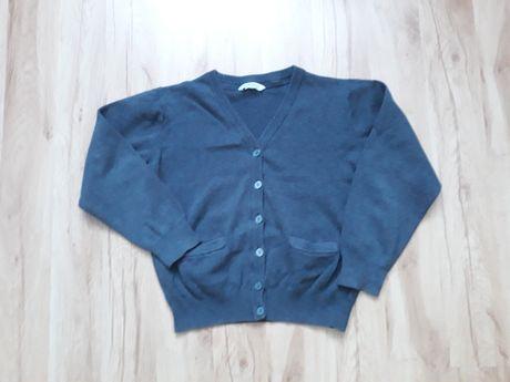 Modny, dzianinowy sweter dla 8,5-10 letniego chłopca w rozm. 140