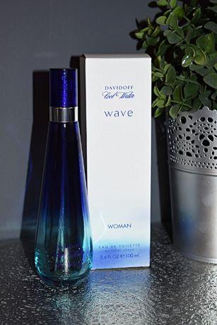 Davidoff Cool Water Wave 100 buteleczki po perfumach flakony oryginał