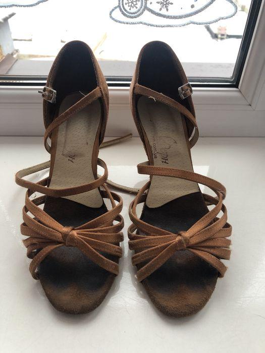 Бальні туфлі, розмір 22,5, каблук 6см Дрогобыч - изображение 1