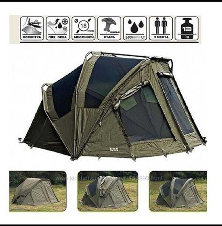 Палатка двухмесная TRAPER SOLAR с накидкой
