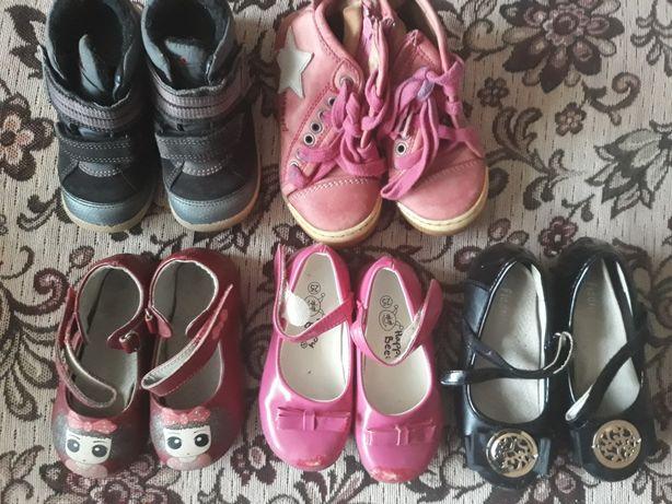 Дешево продам б/у обувь на девочку