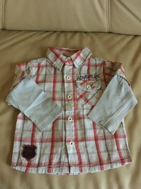 Koszula koszulka długi rękaw ubranie dla chłopca Adams baby 80 rozm.