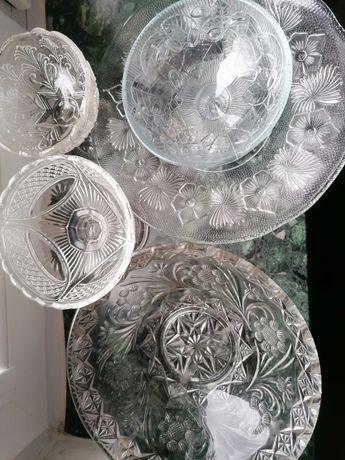 Stare szkło bezbarwne z Ząbkowic