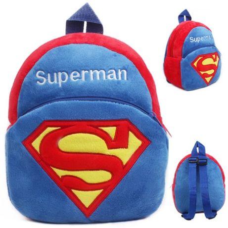 Plecak s plecaczek dla przedszkolaka SuperMan chłopięcy