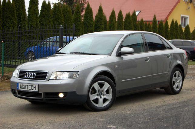 Audi A4 B6 Sedan 1.9TDi 130KM Ksenon Elektryka Klima Zarejestrowana
