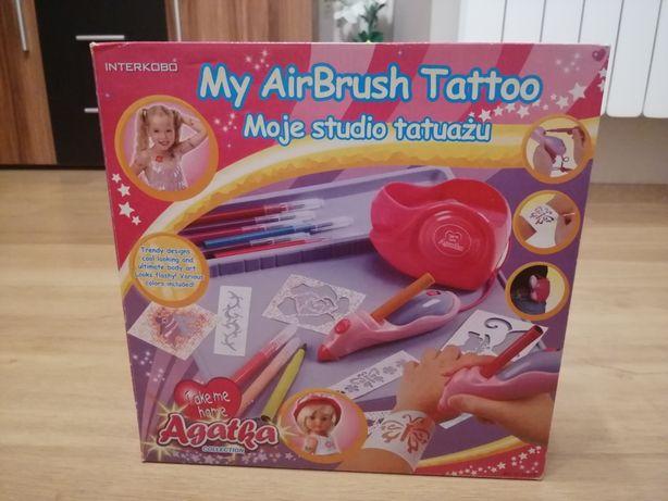 Moje studio tatuażu Agatka