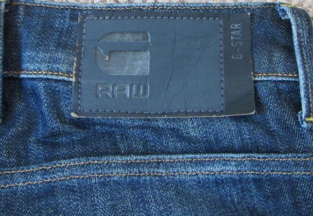 G-STAR RAW Revend Straight W31 L32 джинсы оригинал