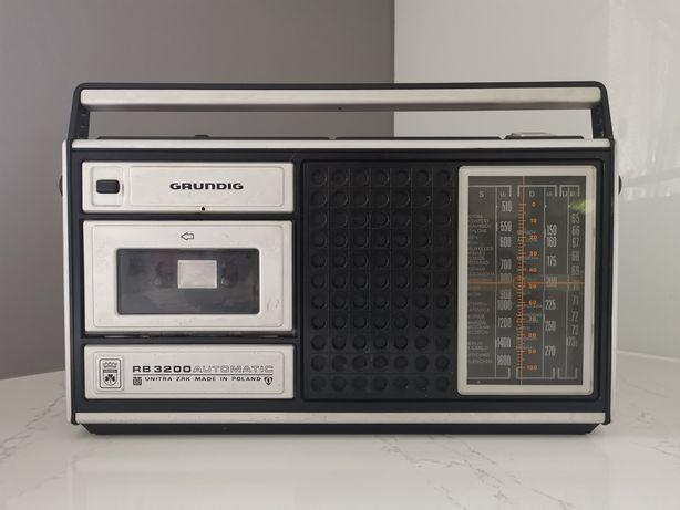 Radiomagnetofon Grundig RB 3200 radio antyk PRL