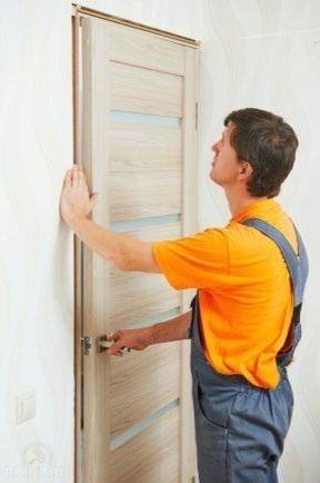 Установка/монтаж/демонтаж межкомнатных дверей
