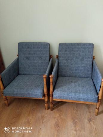 fotele z prl po renowacji