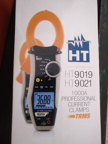 Kit HT9021K com Pinça amperimétrica HT9021+HT38+Lanterna Novo