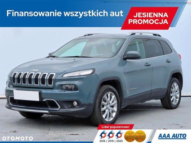 Jeep Cherokee 2.0 MultiJet, Salon Polska, Serwis ASO, 167 KM, Automat, Skóra, Navi,
