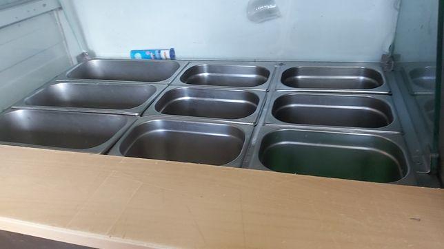 Sałaciarka,chłodnia+ pojemniki gn gratis