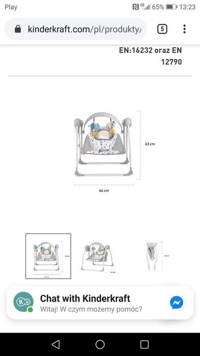 Leżaczek bujaczek kinderkraft Więcbork - image 1