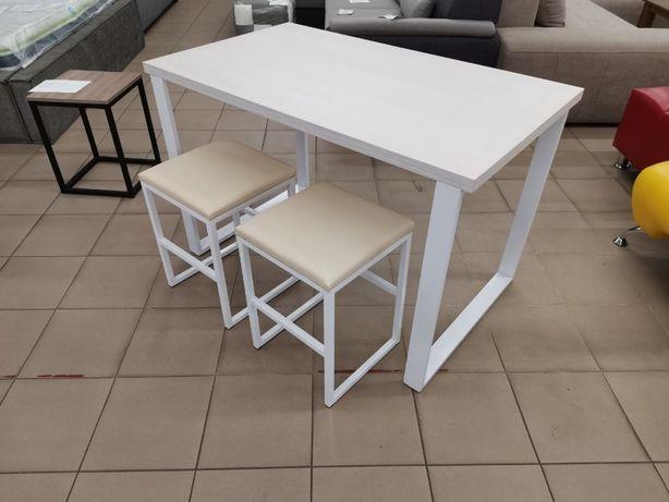 Акция. Стол кухонный, ЛОФТ, стол, Табуретки.