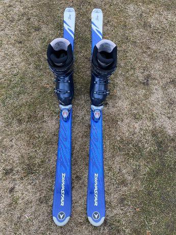 Narty Dynastar 140cm + Buty Lange 25cm