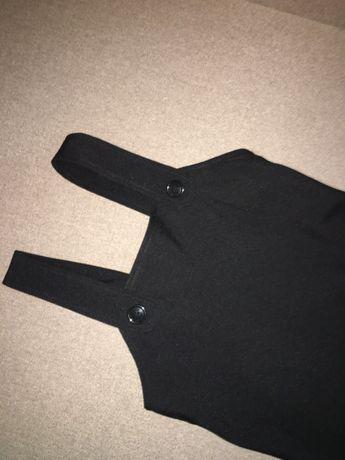 Сарафан школьный черный школьная форма платье на 1 звонок