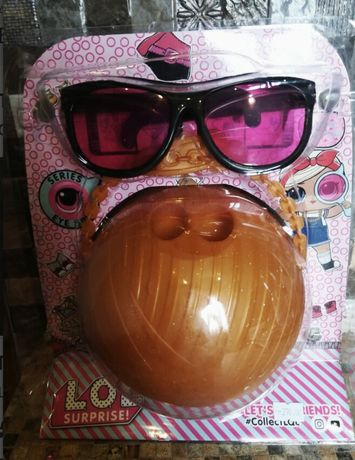 Большой шар Lol+очки
