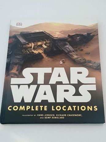 STAR WARS Complete Locations - oprawa twarda - jęz. angielski