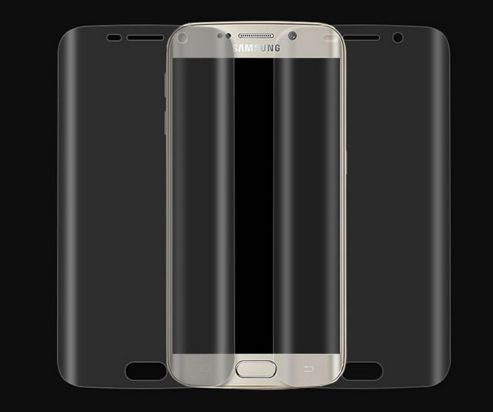 Качественная пленка протиударная 3D, Samsung Galaxy S6 Edge, S6 Edge +