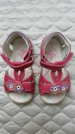 Sandałki Bartek różowe rozmiar 23
