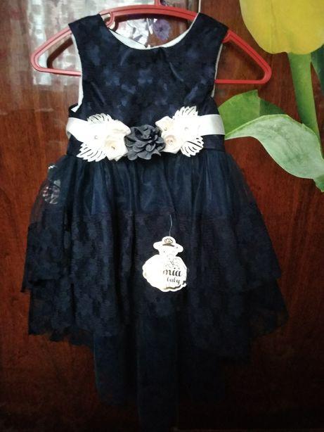 Нарядное платье на годик, новогоднее платье