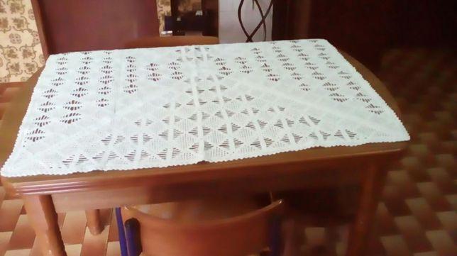 Toalha mesa em croché