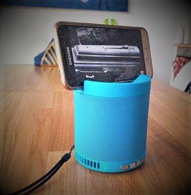 Bezprzewodowy mały głośnik bluetooth fm usb