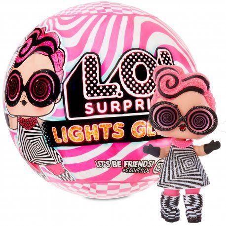 LOL SURPRISE Świecąca Lalka LIGHTS GLITTER KULA laleczka niespodzianka