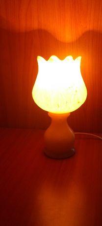 Lampa stołowa alabastrowa tulipan Alabastros Herna, S.L.