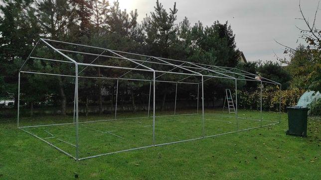 Stelaż namiotu ogrodowego 10x5m ocynk. Komunie,  imprezy, magazyn