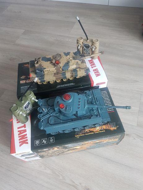 Танковый бой HQ 518. Танк на радиоуправлении. Два отдельных танка!