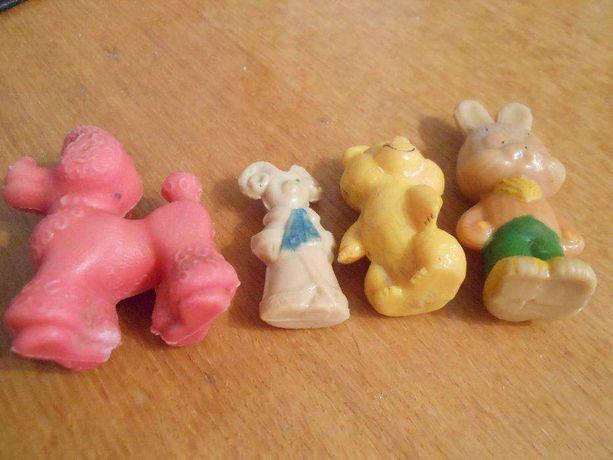Резиновые цельно-литые игрушки